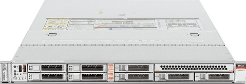 Oracle X6-2L: (2 U RACK SERVER)