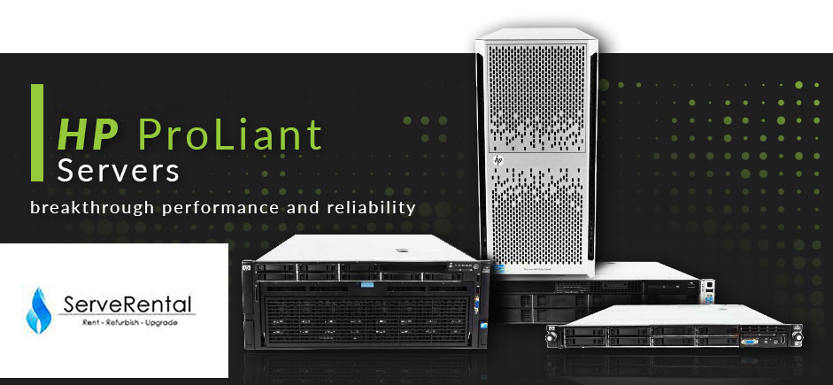 Looking for the right HP ProLiant Server for Rental but not sure which one is right for you?